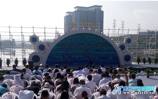 贵阳高新区太阳湖滨河公园开园 免费向游客开放