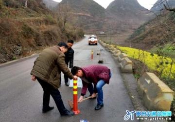 贵州护栏,贵阳护栏,贵州交通设施,安顺市普定加大公路安全隐患排查和违法整治